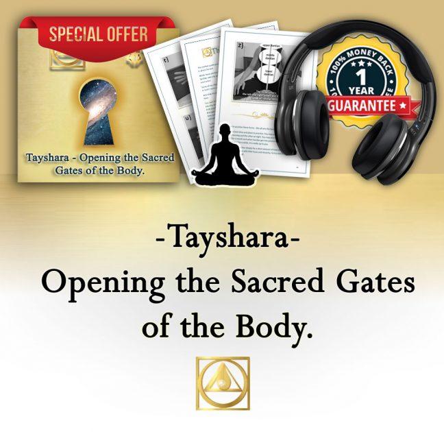 product Tayshara Opening the Sacred Gates of the Body